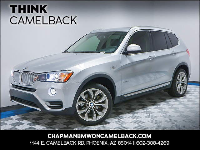 2016 BMW X3 xDrive35i 28879 miles Why Camelback Chapman BMW on Camelback is the Centrally locat