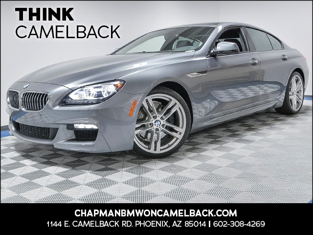 2015 BMW 6-Series 640i Gran Coupe 18269 miles VIN WBA6A0C5XFD318267 For m