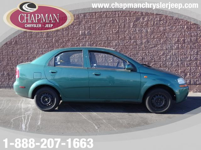 Used Cars in Henderson 2004 Chevrolet Aveo
