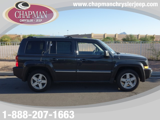 used 2010 jeep patriot limited stock 15j867a chapman. Black Bedroom Furniture Sets. Home Design Ideas