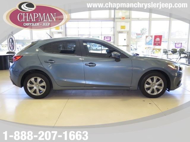 used 2014 mazda mazda3 i sport for sale stock 16j091a chapman chrysler jeep. Black Bedroom Furniture Sets. Home Design Ideas