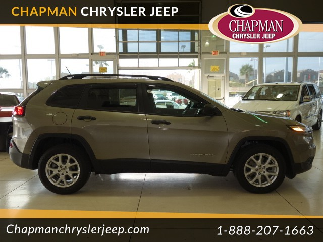 used 2016 jeep cherokee sport stock 16j399a chapman automotive group. Black Bedroom Furniture Sets. Home Design Ideas