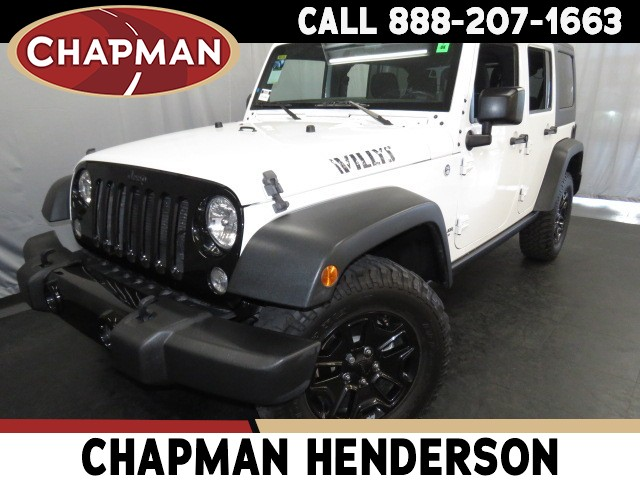 2014 Jeep Wrangler Unlimited Willys Wheeler Edition