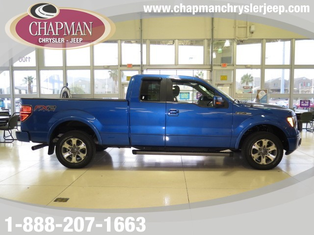 used 2013 ford f 150 fx2 supercab stock 730577a chapman automotive group. Black Bedroom Furniture Sets. Home Design Ideas