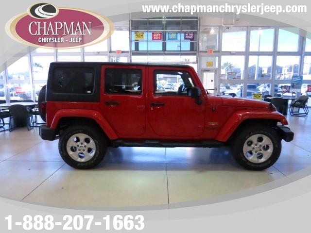 2013 Jeep Wrangler Unlimited Sahara Details