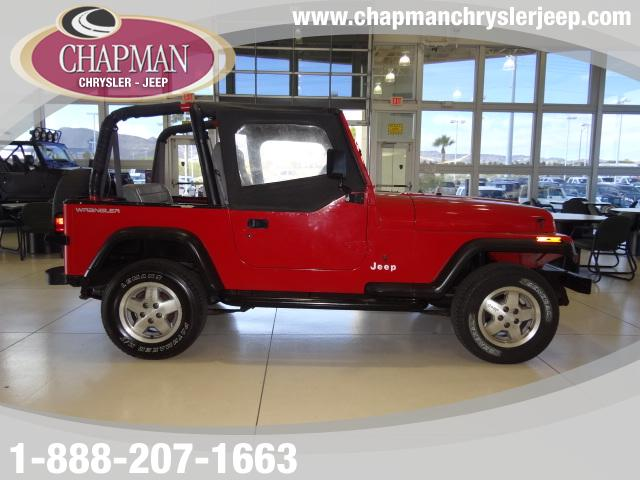 Used Cars in Henderson 1995 Jeep Wrangler