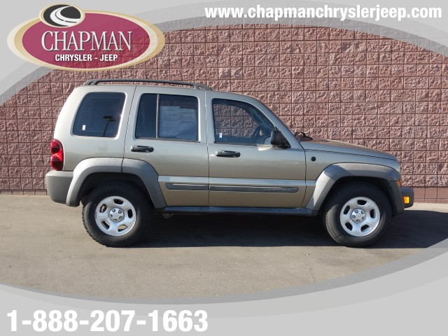 2007 Jeep Liberty Sport Stock P4042