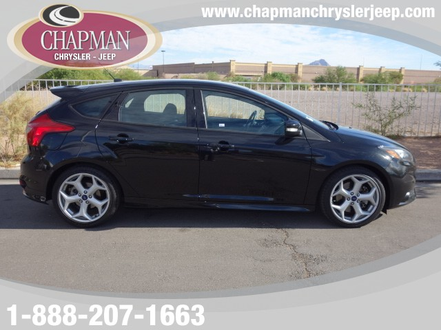 used 2014 ford focus st stock p4109 chapman automotive group. Black Bedroom Furniture Sets. Home Design Ideas