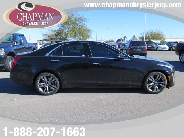 used 2015 cadillac cts 3 6l tt vsport for sale stock p4308a chapman chrysler jeep. Black Bedroom Furniture Sets. Home Design Ideas