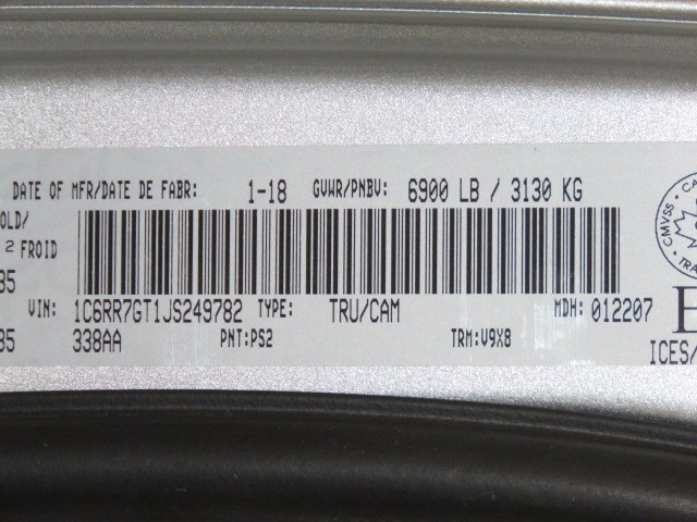 2018 Ram 1500 SLT Quad Cab