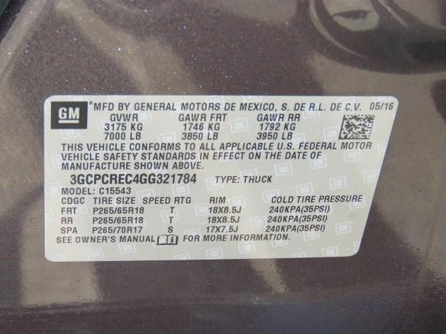 2016 Chevrolet Silverado 1500 LT Crew Cab
