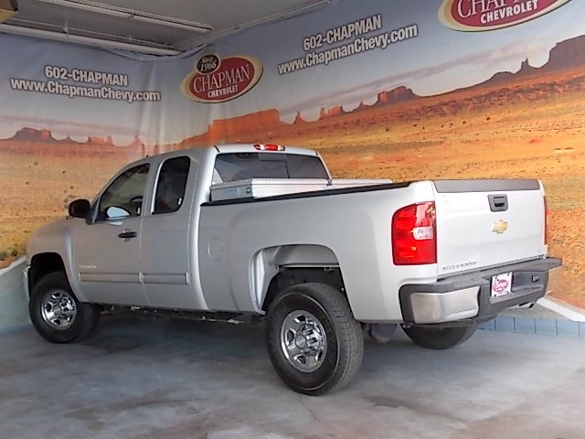 used 2010 chevrolet silverado 2500hd lt extended cab phoenix az stock 154740a chapman chevy. Black Bedroom Furniture Sets. Home Design Ideas