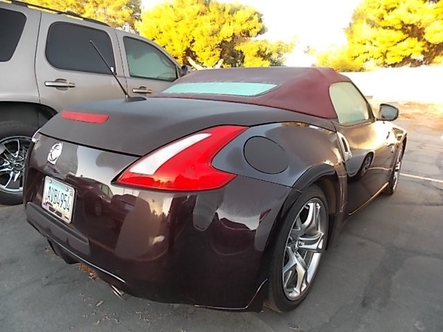 used 2010 nissan 370z roadster touring stock 161475a. Black Bedroom Furniture Sets. Home Design Ideas