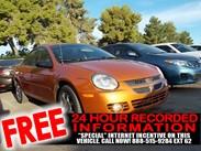 2005 Dodge Neon SXT Stock#:142025B