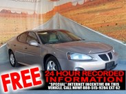 2007 Pontiac Grand Prix  Stock#:161723A