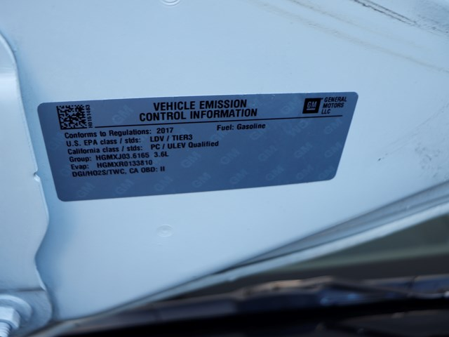 2017 Chevrolet Camaro LT – Stock #201095A