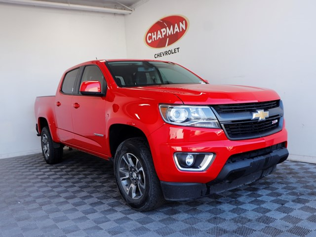 2017 Chevrolet Colorado Z71 Crew Cab – Stock #214039A