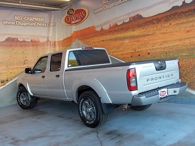 used 2004 nissan frontier xe v6 crew cab phoenix az stock cp58673b chapman chevy. Black Bedroom Furniture Sets. Home Design Ideas