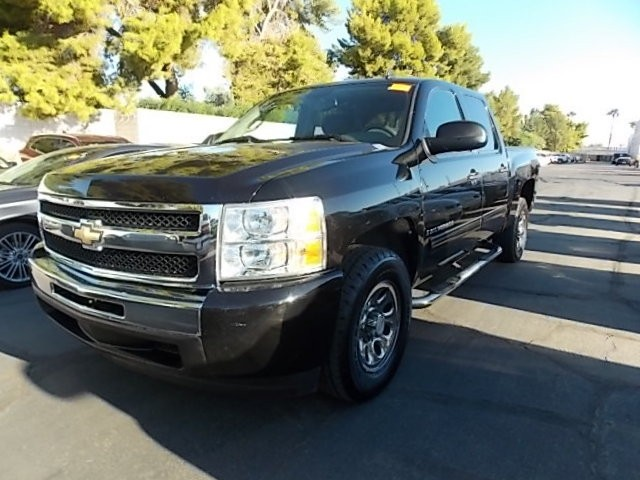 used 2009 chevrolet silverado 1500 ls crew cab stock d7506a chapman automotive group. Black Bedroom Furniture Sets. Home Design Ideas