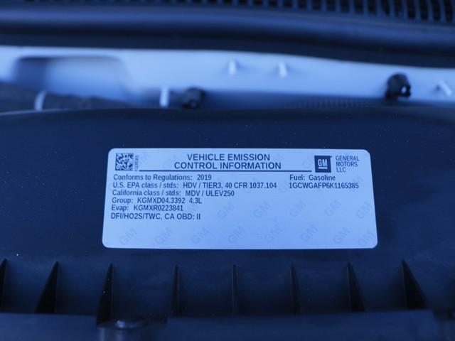 2019 Chevrolet Express Cargo 2500 – Stock #Z4960