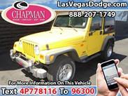 2004 Jeep Wrangler Sport Stock#:D5704A