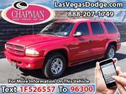 2001 Dodge Durango SLT Stock#:D6026A