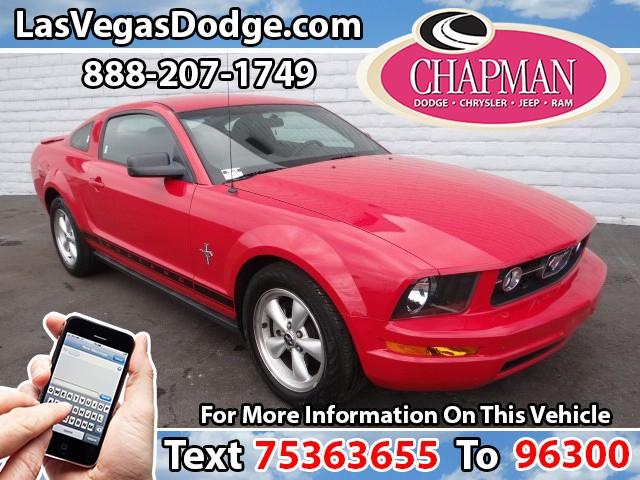 Used Cars in Las Vegas 2007 Ford Mustang