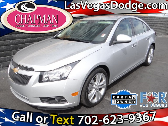 used 2013 chevrolet cruze ltz for sale in las vegas nv at. Black Bedroom Furniture Sets. Home Design Ideas