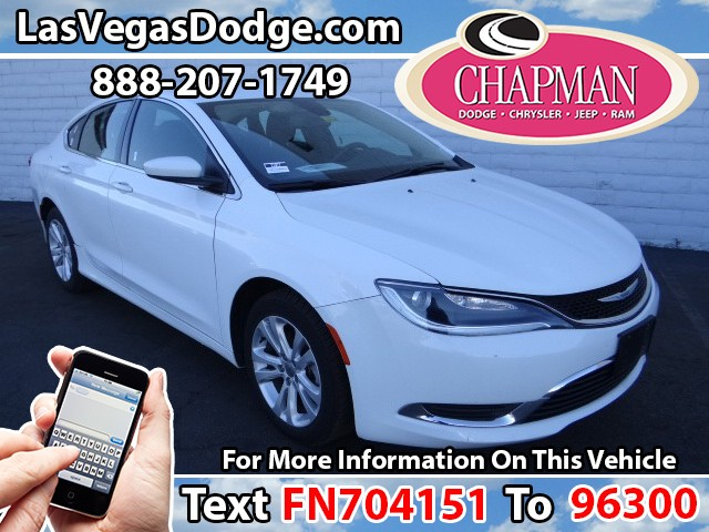 Used Cars in Las Vegas 2015 Chrysler 200
