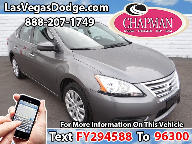 Used Cars in Las Vegas 2015 Nissan Sentra