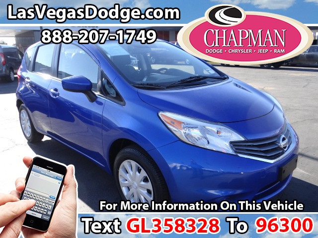 Used Cars in Las Vegas 2016 Nissan Versa