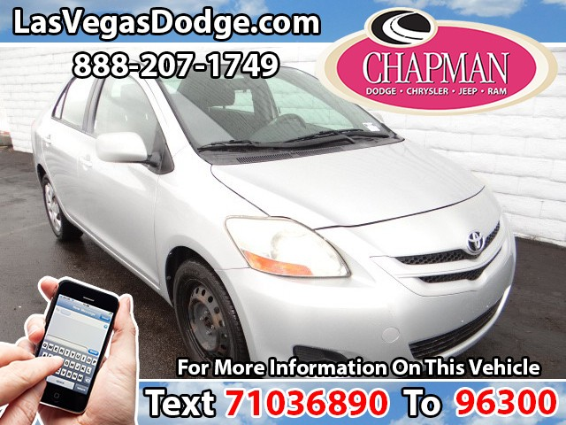 Used Cars in Las Vegas 2007 Toyota Yaris