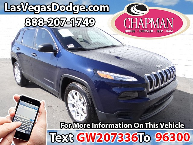 2016 Jeep Cherokee Sport Details