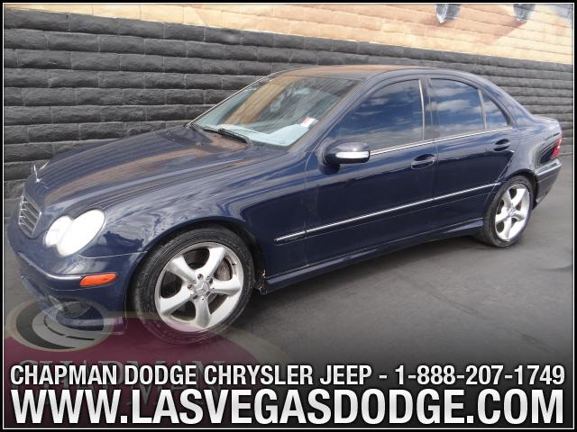 Used Cars in Las Vegas 2005 Mercedes Benz C-Class