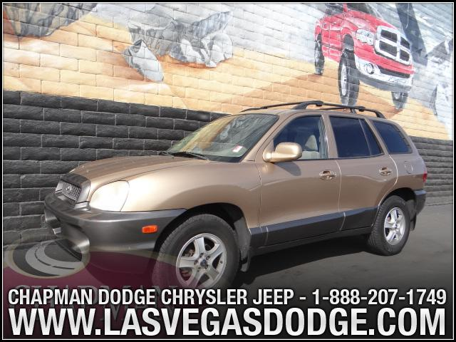 Used Cars in Las Vegas 2002 Hyundai Santa Fe