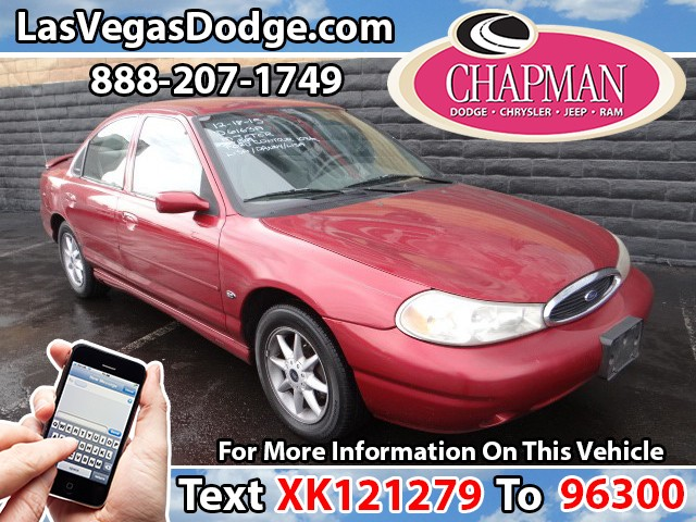 Used Cars in Las Vegas 1999 Ford Contour