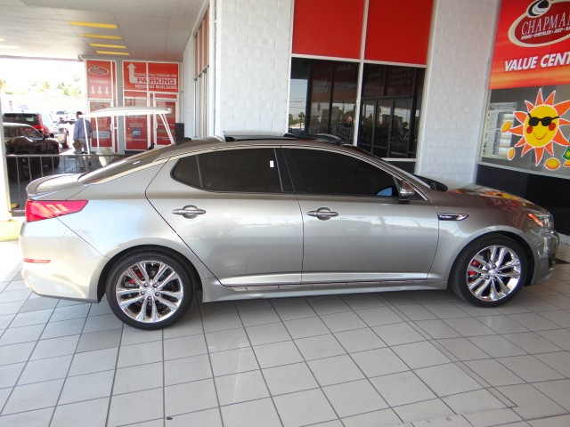 used 2014 kia optima sxl turbo stock r6311a chapman automotive group. Black Bedroom Furniture Sets. Home Design Ideas