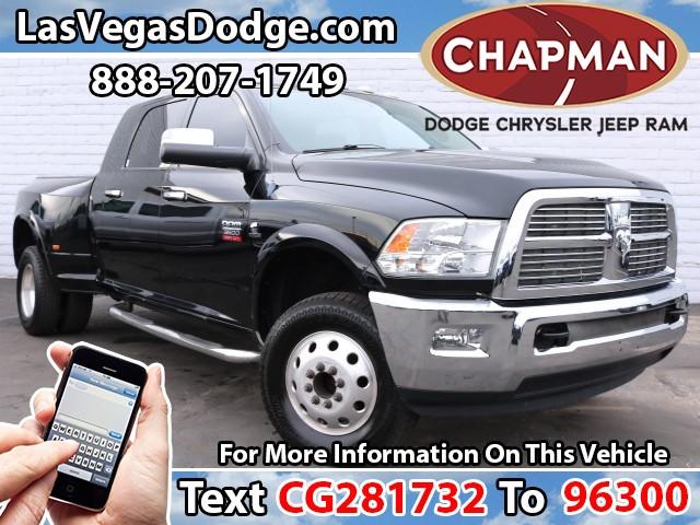 2012 Ram 3500 Laramie Crew Cab