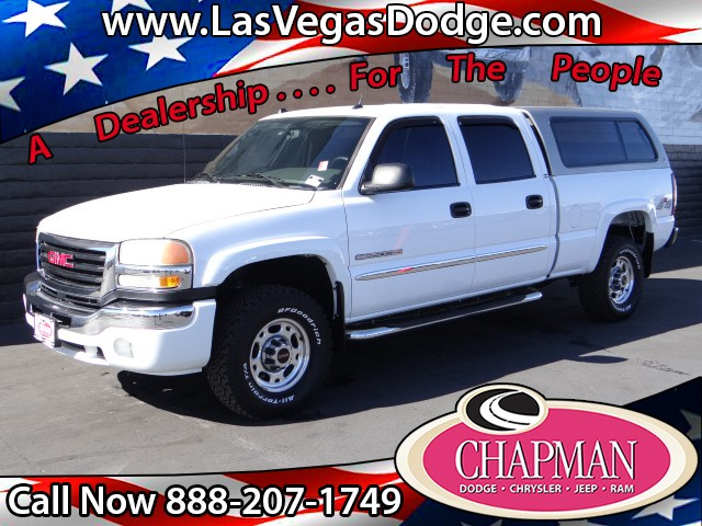 used 2005 gmc sierra 2500hd sle crew cab for sale in las vegas nv at chapman las vegas dodge. Black Bedroom Furniture Sets. Home Design Ideas