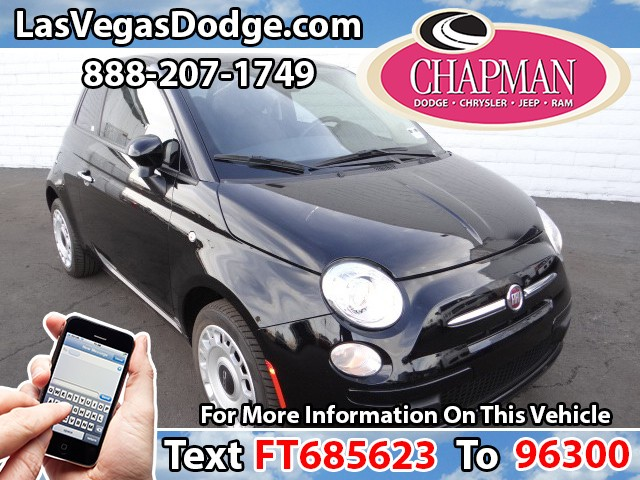 Used Cars in Las Vegas 2015 FIAT 500