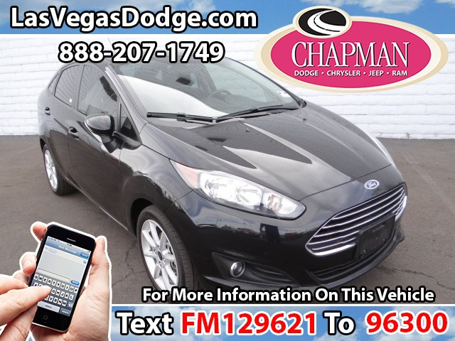 Used Cars in Las Vegas 2015 Ford Fiesta
