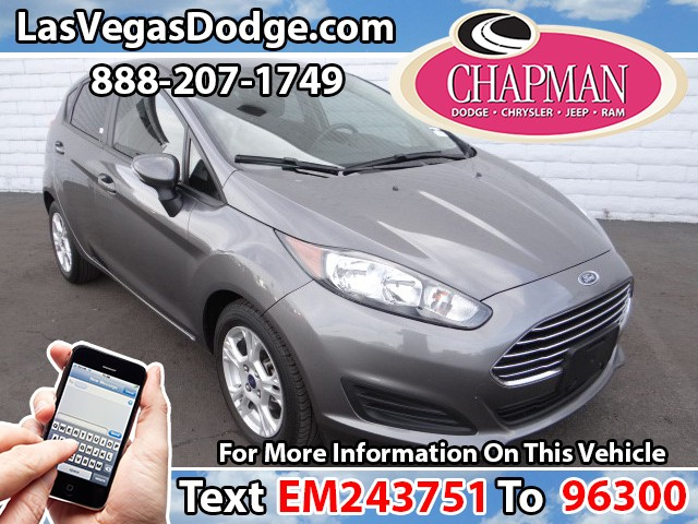 Used Cars in Las Vegas 2014 Ford Fiesta
