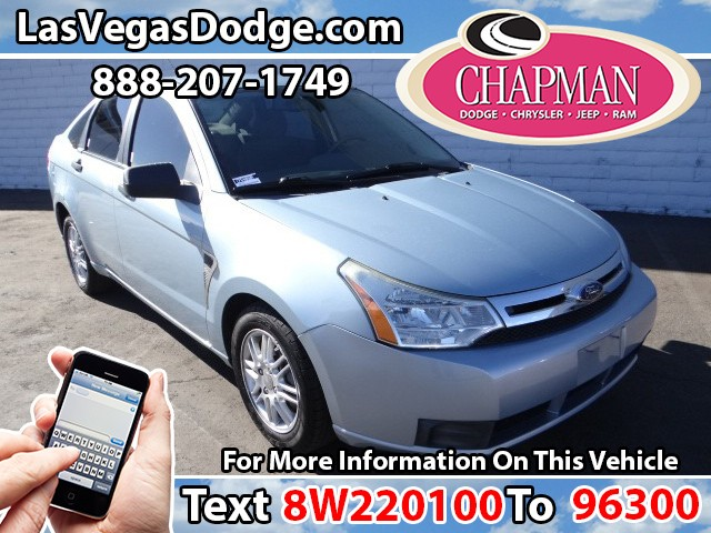 Used Cars in Las Vegas 2008 Ford Focus