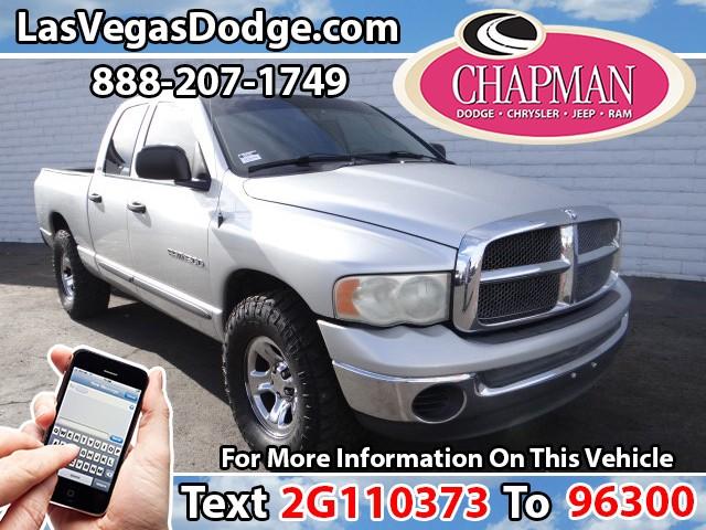 Used Cars in Las Vegas 2002 Dodge RAM 1500