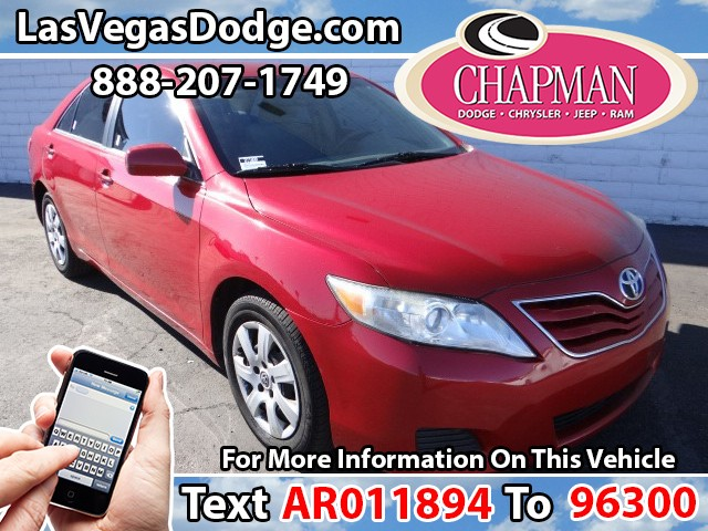 Used Cars in Las Vegas 2010 Toyota Camry