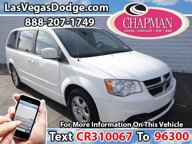 Used Cars in Las Vegas 2012 Dodge Grand Caravan