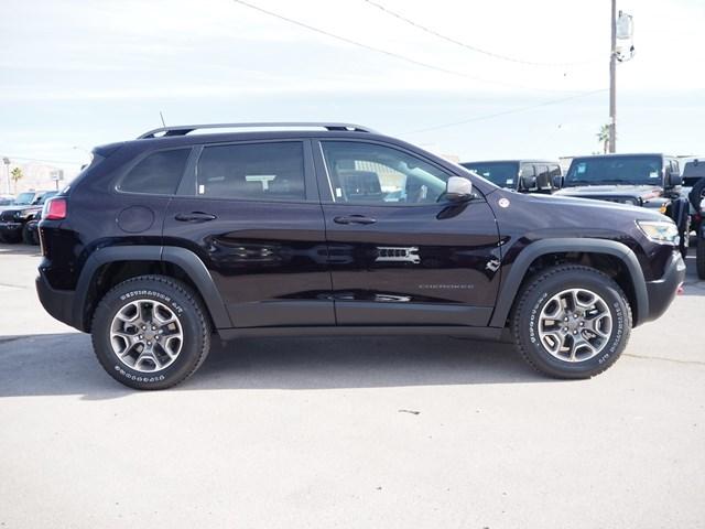 2021 Jeep Cherokee Trailhawk In Las Vegas Nevada - Stock J21235