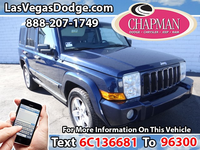 Used Cars in Las Vegas 2006 Jeep Commander