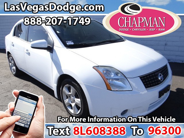 Used Cars in Las Vegas 2008 Nissan Sentra