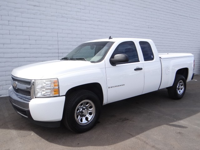 used 2008 chevrolet silverado 1500 work truck extended cab for sale stock r6441a chapman. Black Bedroom Furniture Sets. Home Design Ideas